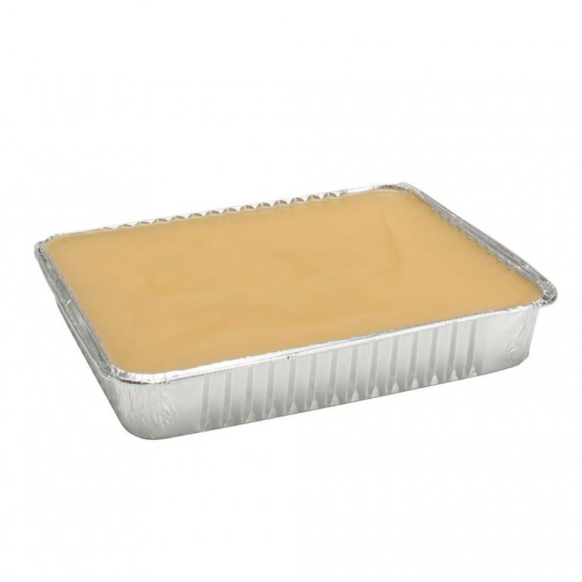 Cera depilatoria classica gialla miele con cera d'api in vassoio da 1 kg