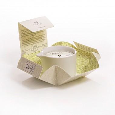 Candela massaggio vivalù matcha e green tea