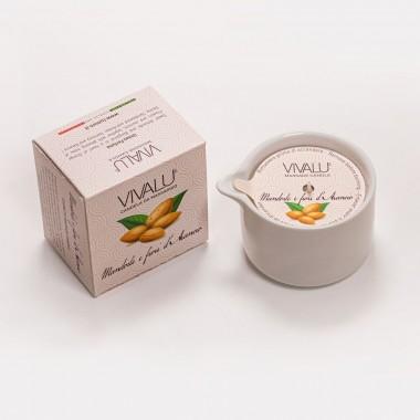 Candela massaggio vivalù mandorle e fiori di arancio