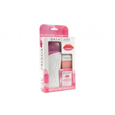 kit depilazione per cera liposolubile rosa