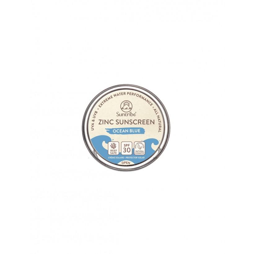 Suntribe- crema solare retrò blue spf 30 - 45 gt