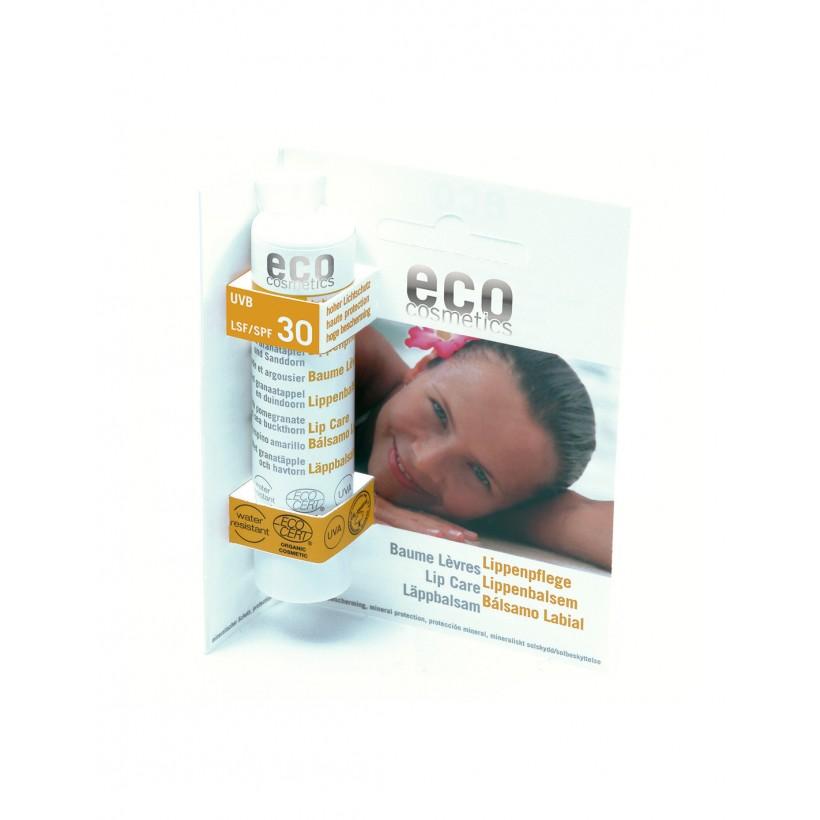 eco cosmetics balsamo labbra melograno e olivello 4 g.